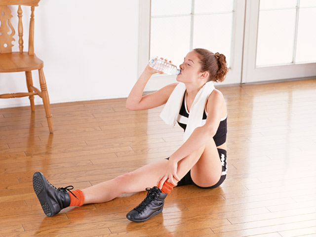 運動と水分